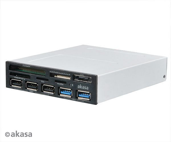 Akasa Internal Cardreader, USB 3.0 (AK-ICR-17)