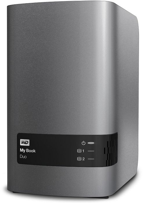 Western Digital My Book Duo  16TB, USB-B 3.0 (WDBLWE0160JCH)