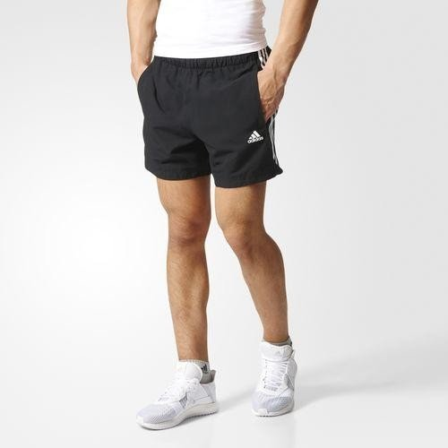 adidas Chelsea Shorts Hose kurz schwarzweiß (Herren) (S88113) ab € 19,02