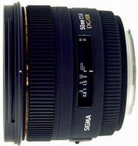 Sigma AF 50mm 1.4 EX DG HSM für Canon EF schwarz (310954)