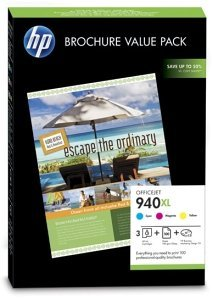 HP Tinte Nr 940 XL Value Broschürenset (CG898AE)