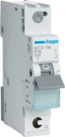 Hager Leitungsschutzschalter (MCS116)