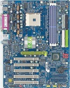 Gigabyte GA-K8VT800, K8T800 [PC-3200 DDR]