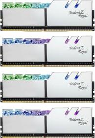 G.Skill Trident Z Royal silver DIMM kit 32GB, DDR4-4000, CL18-22-22-42 (F4-4000C18Q-32GTRS)
