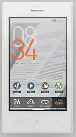 Cowon Z2 plenue 8GB white
