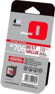 Olivetti Druckkopf mit Tinte IN706 Linea, farbig photo (B0630)