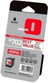 Olivetti Druckkopf mit Tinte IN702 schwarz hohe Kapazität (B0628)