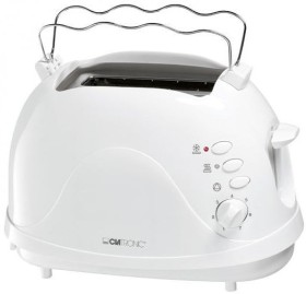 Clatronic TA 3565 weiß Toaster