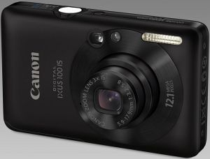 Canon Digital Ixus 100 IS schwarz (3595B008)