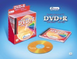 Plextor DVD+R 4.7GB 5-pack