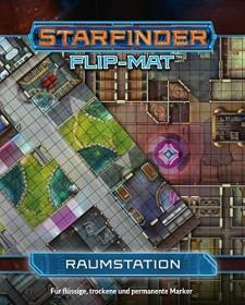 Starfinder Flip-Mat Raumstation