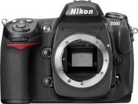 Nikon D300 schwarz Gehäuse (VBA200AE)