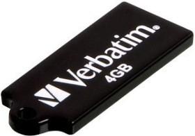 Verbatim Store 'n' Go Micro schwarz 8GB, USB-A 2.0 (44049)