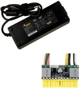 Mini-Box PicoPSU-150-XT + 120W Adapter Power Kit, 150W extern