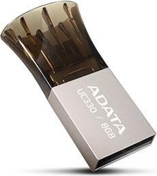 ADATA DashDrive Choice UC330 OTG 8GB, USB-A 2.0 (AUC330-8G-RBK)