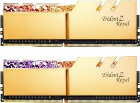 G.Skill Trident Z Royal gold DIMM Kit 16GB, DDR4-3600, CL14-15-15-35 (F4-3600C14D-16GTRGB)