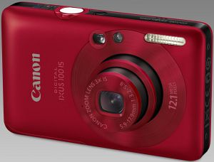 Canon Digital Ixus 100 IS rot (3596B008)