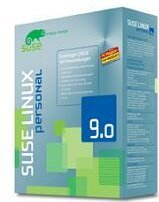 SuSE: Linux 9.0 Personal (German) (PC) (2002-27)