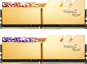 G.Skill Trident Z Royal gold DIMM Kit 32GB, DDR4-3600, CL16-16-16-36 (F4-3600C16D-32GTRG)