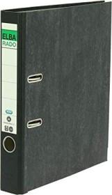 Elba Rado Wolkenmarmor Ordner A4, 5cm, schwarz (100 555 311)