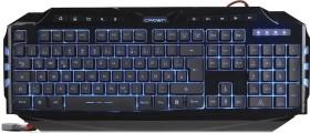 Crown Micro CMKG-403, black, USB, DE