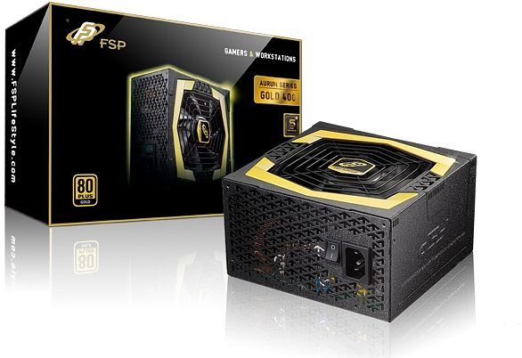FSP Fortron/Source Aurum Gold  400W ATX 2.3 (AU-400)