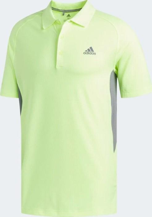 Adidas Ultimate365 Climacool Solid Polo Herren gelbgrau