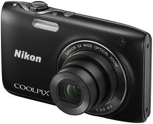 Nikon Coolpix S3100 schwarz (VMA711E1)