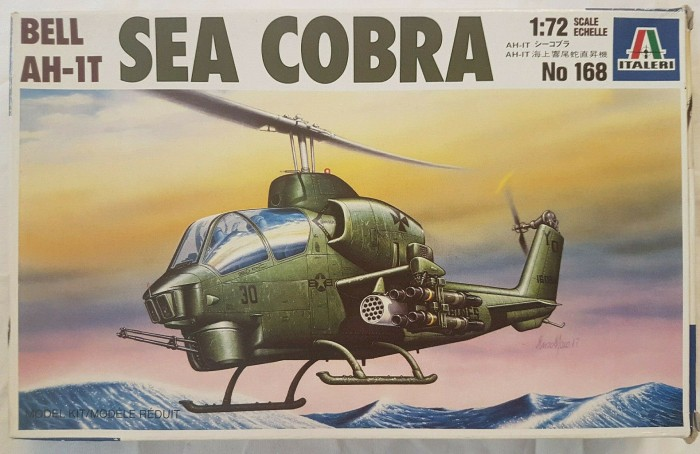 Italeri AH-1T Sea Cobra (0168S) -- via Amazon Partnerprogramm