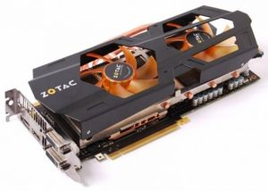 Zotac GeForce GTX 680 AMP! Edition, 2GB GDDR5, 2x DVI, HDMI, DisplayPort (ZT-60102-10P)