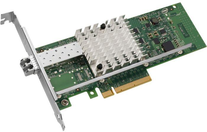 Intel X520-SR1, LC-Duplex, PCIe 2.0 x8, bulk (E10G41BFSRBLK)