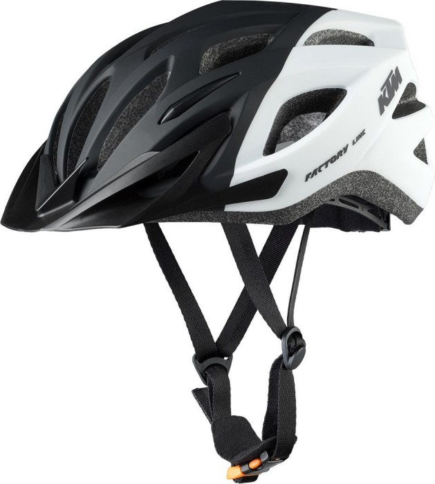 KTM Factory Line Helm schwarz/weiß matt (6731502)