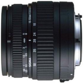 Sigma AF 18-50mm 3.5-5.6 DC Asp für Sigma schwarz (521940)