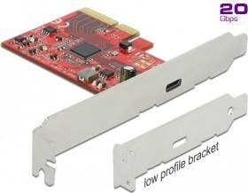 DeLOCK 1x USB-C 3.2, PCIe 3.0 x4 (89035)
