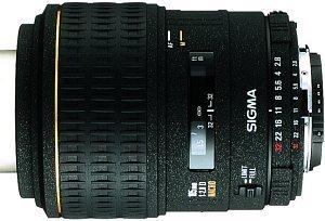 Sigma AF 105mm 2.8 EX Makro für Canon EF schwarz