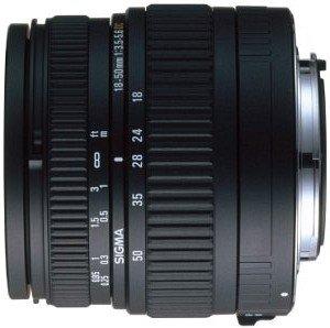 Sigma AF 18-50mm 3.5-5.6 DC Asp für Pentax K schwarz (521945)