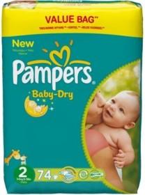 Pampers Baby-Dry Gr.2 Einwegwindel, 3-6kg, 74 Stück