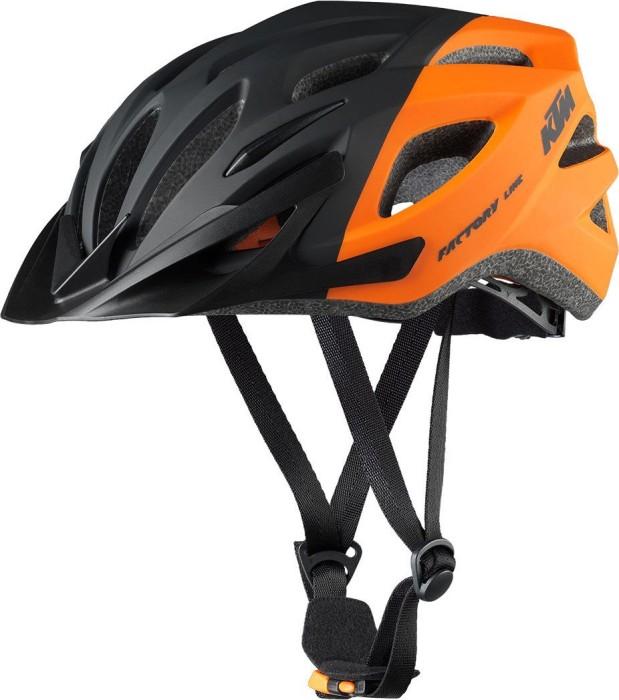 KTM Factory Line Helm schwarz/orange matt (6731521)