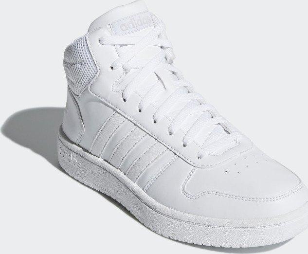 adidas Hoops 2.0 Mid ftwr white (Damen) (B42099) ab € 49,99