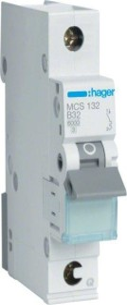Hager Leitungsschutzschalter (MCS132)