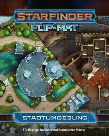 Starfinder Flip-Mat Stadtumgebung