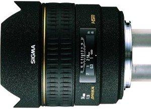 Sigma AF 14mm 2.8 EX Asp HSM RF do Canon EF czarny (461927)