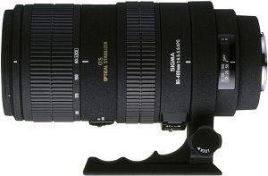 Sigma AF 80-400mm 4.5-5.6 EX APO RF OS für Nikon F schwarz (725755)
