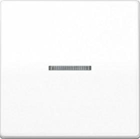Jung Serie AS Wippe mit Lichtleiter und Schraubbefestigung, alpinweiß (AS 591 KO5BFS WW)