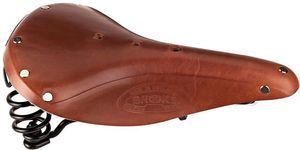 Brooks Flyer Sattel honey (B396HA07-203) -- ©globetrotter.de