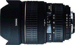 Sigma AF 15-30mm 3.5-4.5 EX DG Asp IF for Canon EF black (512927)