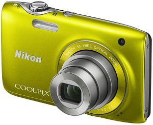 Nikon Coolpix S3100 yellow (VMA713E1)