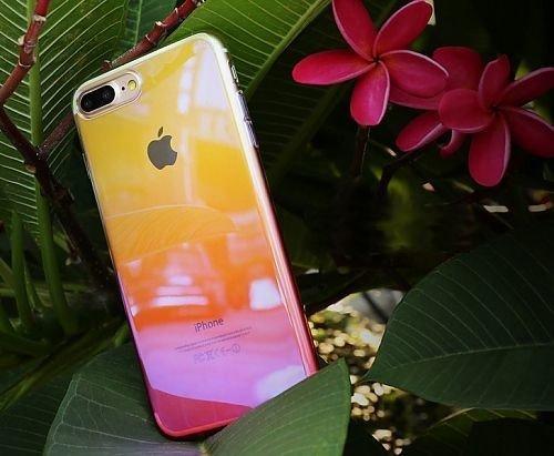 Emporia Snap-on Case Chamäleon für Apple iPhone 8 rot (SC-CHM-IP8-R)