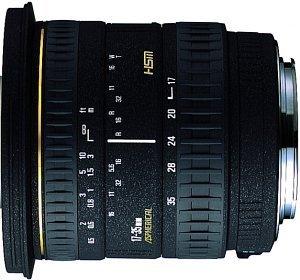 Sigma AF 17-35mm 2.8-4.0 EX Asp HSM IF for Canon EF black (511927)