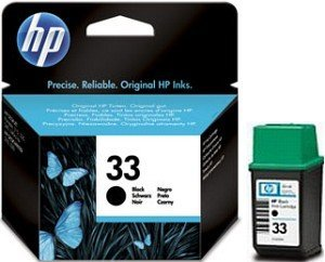 HP 33 Printhead with Ink black (51633ME)